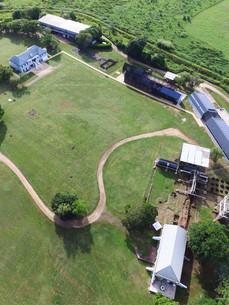 Bird's eye view of Hacienda La Esperanza
