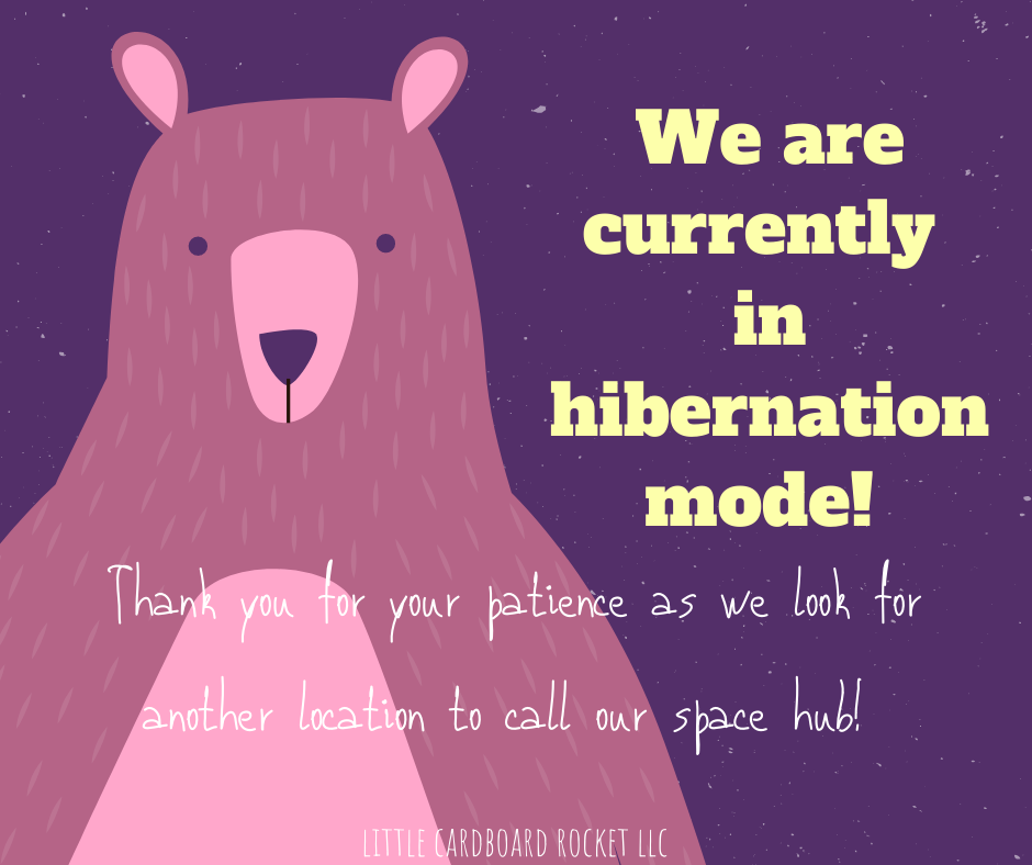 We are currently in hibernation mode! (1