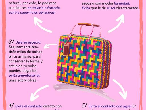 ¡5 tips para cuidar tu bolsa!