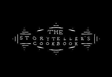 """""""The Storyteller's Cookbook"""" Logo"""