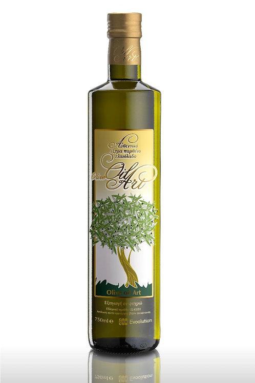 Olivolja glasflaska 750 ml