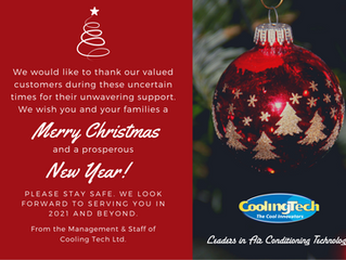Merry Christmas from Cooling Tech Ltd!