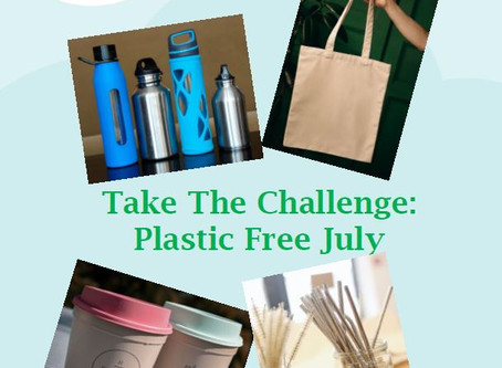 Take The Challenge - Plastic Free July