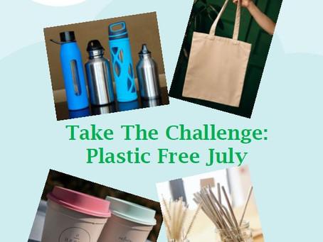 Take The Challenge - Plastic Free July