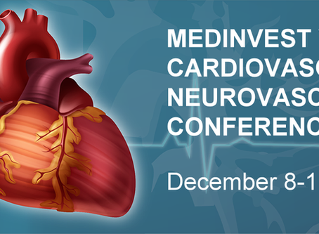 St. Jude Founder to Headline MedInvest Cardiovascular Investor Conference Scheduled for Dec 8-11