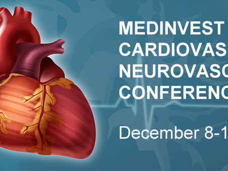 Manny Villafana to Headline MedInvest Cardiovascular and Neurovascular Investor Conference Dec 8-11