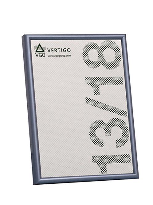Porta metalizado, marco finito. Para apoyar horizontal o vertical. 20 x 25