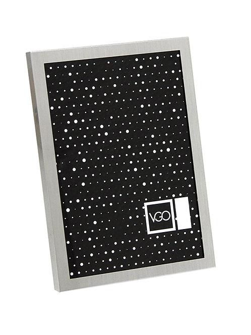 Portarretratos Aluminio marco 1 cm