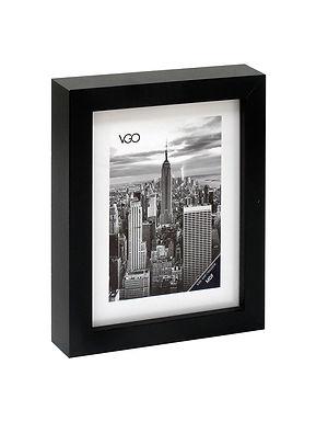 Portarretrato de madera tipo box  13 x 18 cm