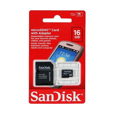 MEMORIA MICRO SD 16GB SANDISK
