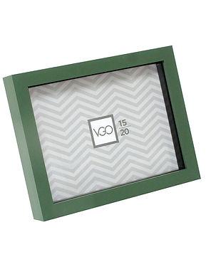 Portarretratos plástico tipo box con profundidad 13x18 cm