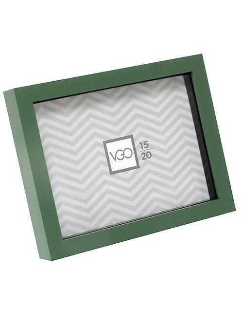 Portarretratos plástico tipo box con profundidad 20 x 30 cm