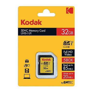 MEMORIA  SD 32GB KODAK CLASE 10