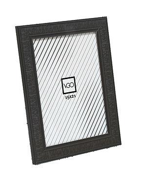 Portarretratos plástico labrado 15x21