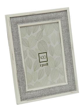 Portarretratos plástico imitación madera 13X18