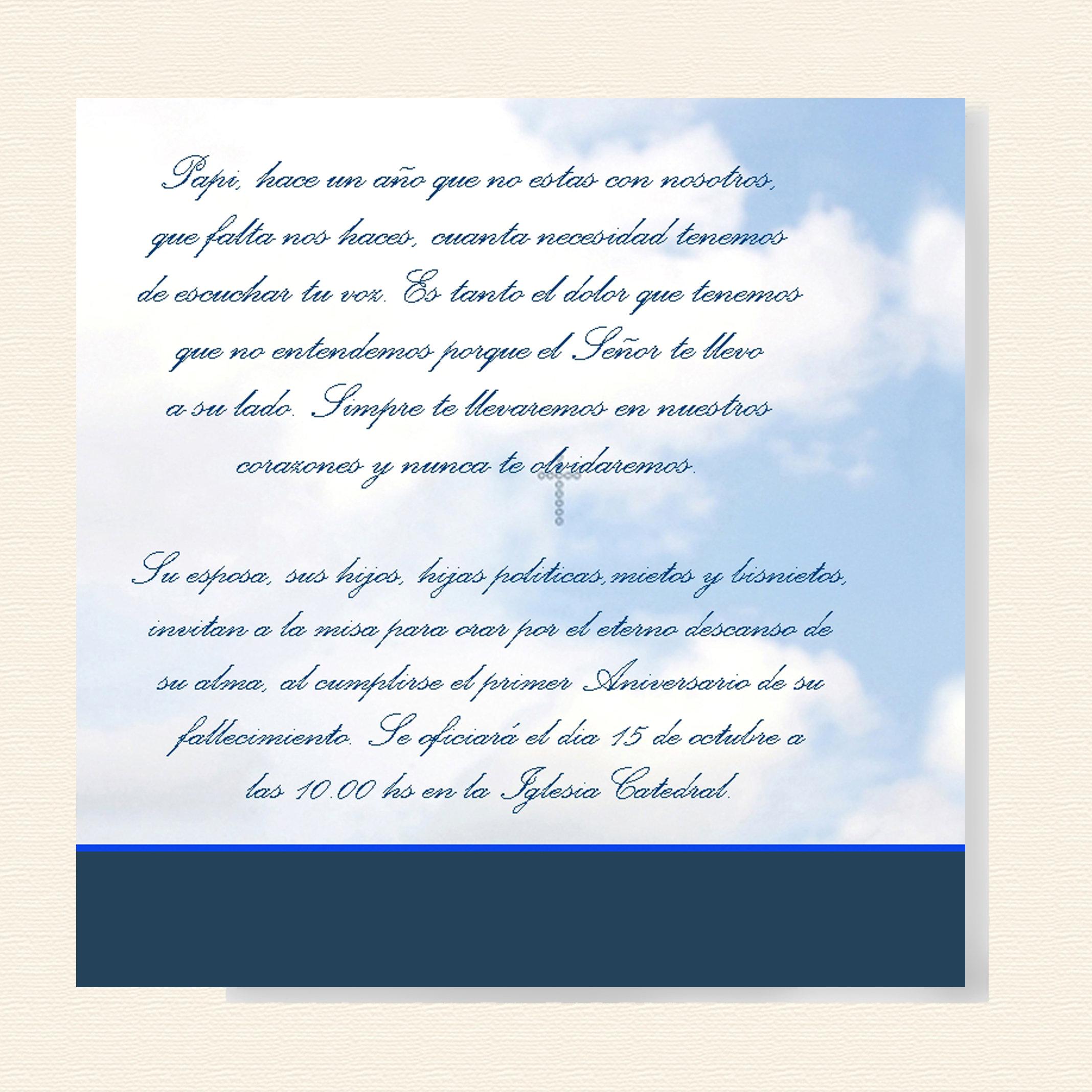 Invitación A Misa Espiritu Santo