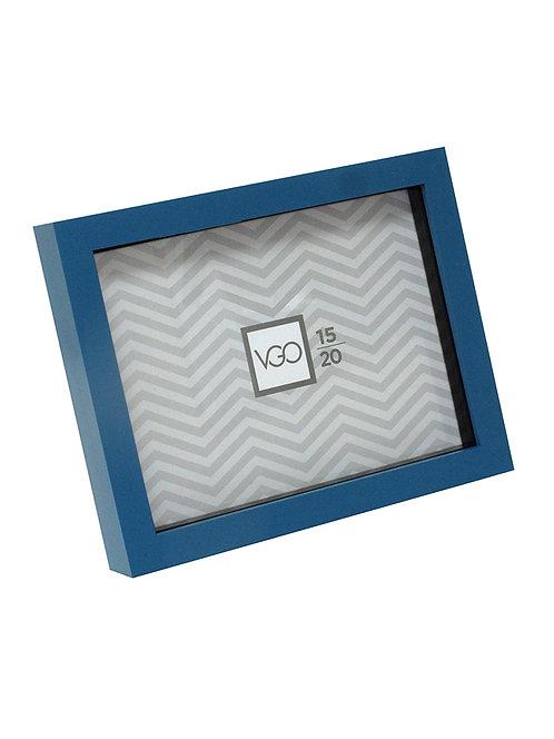 Portarretratos  tipo box con profundidad 15 X 21 cm