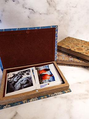 Caja de Madera 21 x 14 cm, 3 diseños
