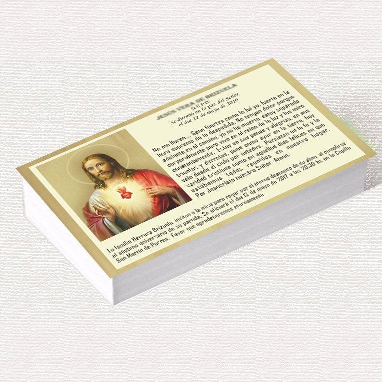 Invitación A Misa Sagrado Corazon