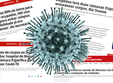 No Amazonas, o vírus mata e livra a cara dos políticos