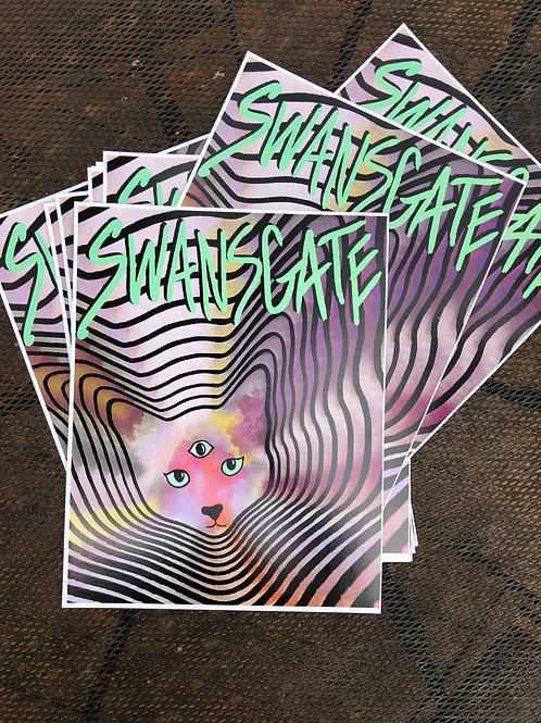 Swansgate Logo Poster