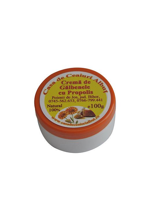 Crema de galbenele cu propolis