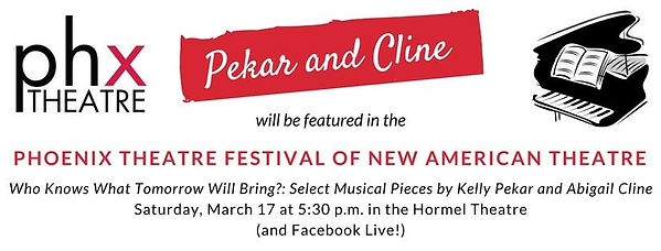 Phoenix Theatre Festival of New American Theatre features Pekar and Cline