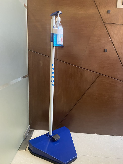 Foot Operated Sanitizer Dispensing Stand