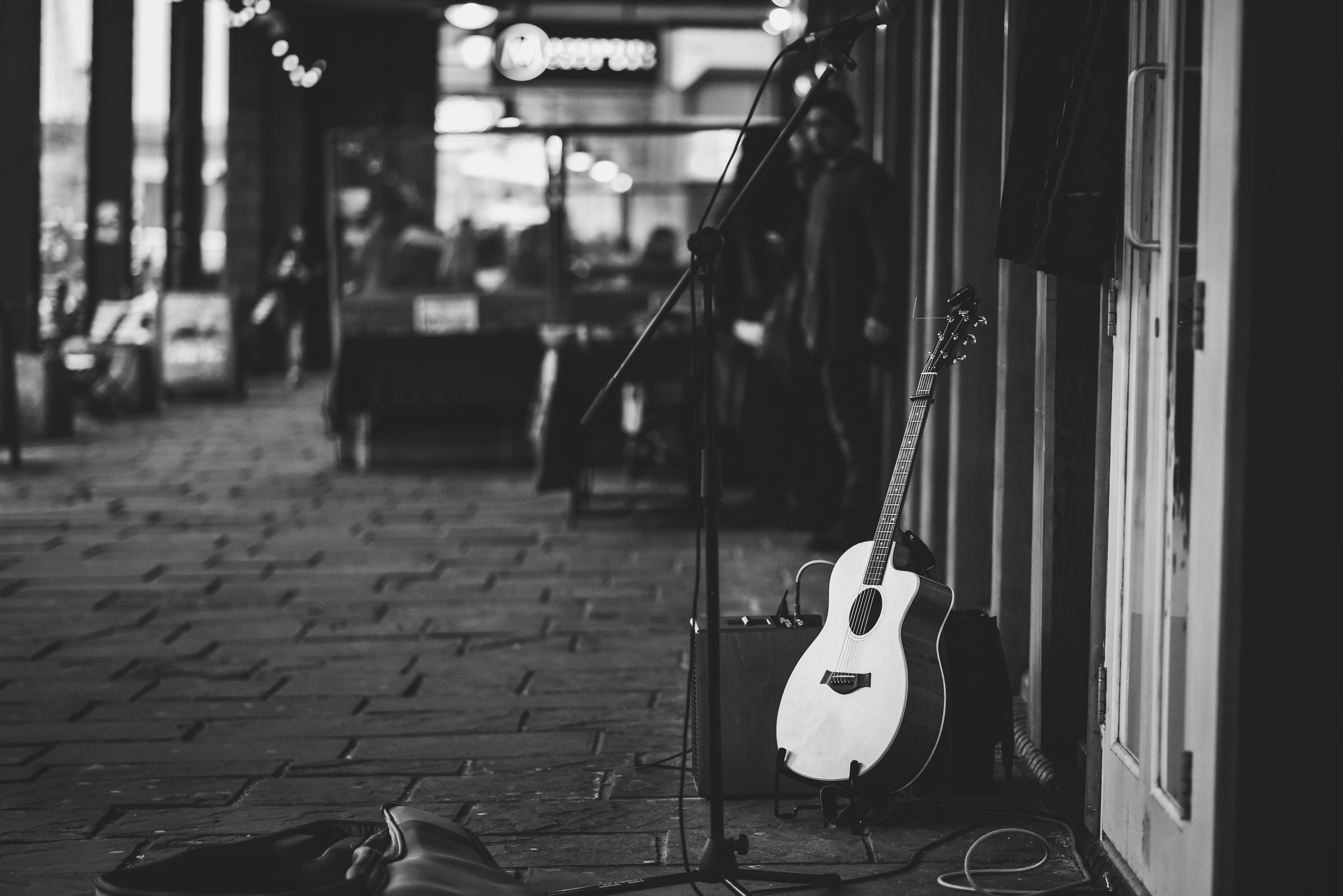 Guitar on the street