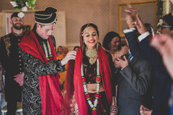 Indian wedding ceremony in London