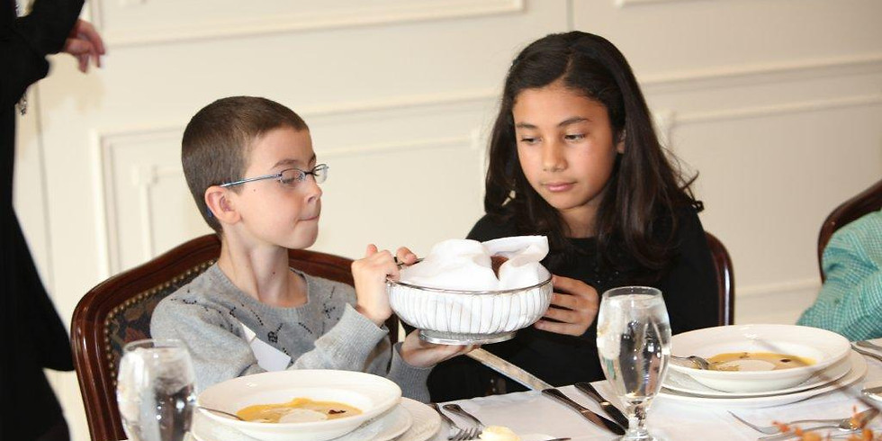 Sept 16 Children's Etiquette Class, $95 per person (1)