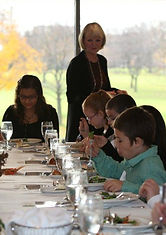 Children's and teens' etiquette classes