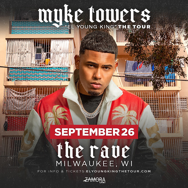 Myke Towers: El Young King The Tour