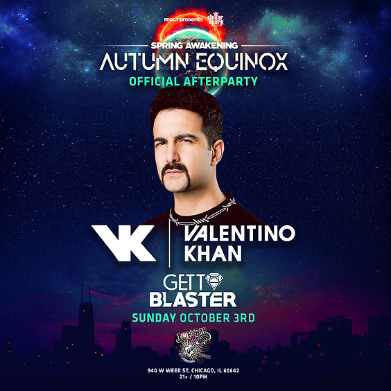 SAMF Autumn Equinox Afters: Valentino Khan & Gettoblaster at Joe's on Weed St
