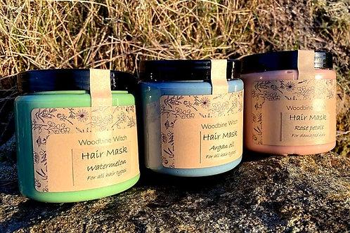 Hair mask - Comfrey & Argan Oil / Maska do włosów Żywokost i Argan