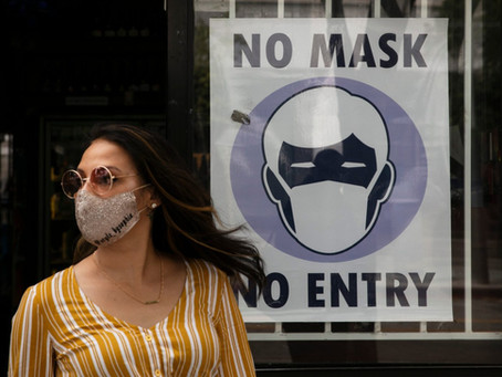 No Face Mask - No Entry? Illegal.