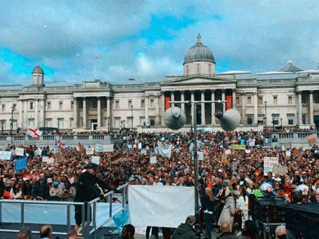29th August London Freedom Protest