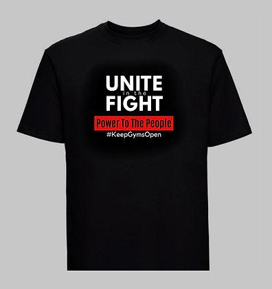 Unite - #KeepGymsOpen T-Shirt