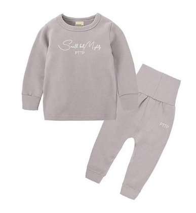 Small but Mighty lounge set in pastel grey