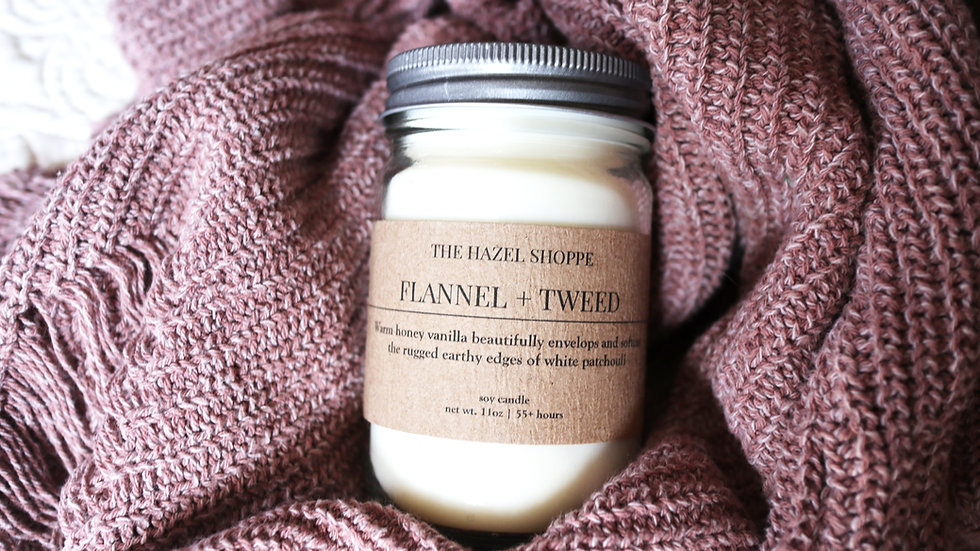 Flannel + Tweed Aroma