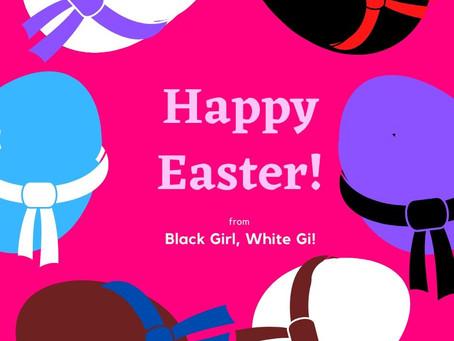 Happy Easter from Black Girl, White Gi!