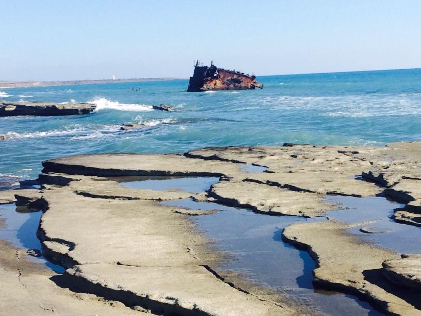 Acrotiri shipwreck sightseeing Atlas