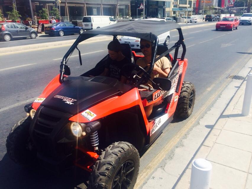 buggy safari and rentals by atlas rentals Limassol cyprus
