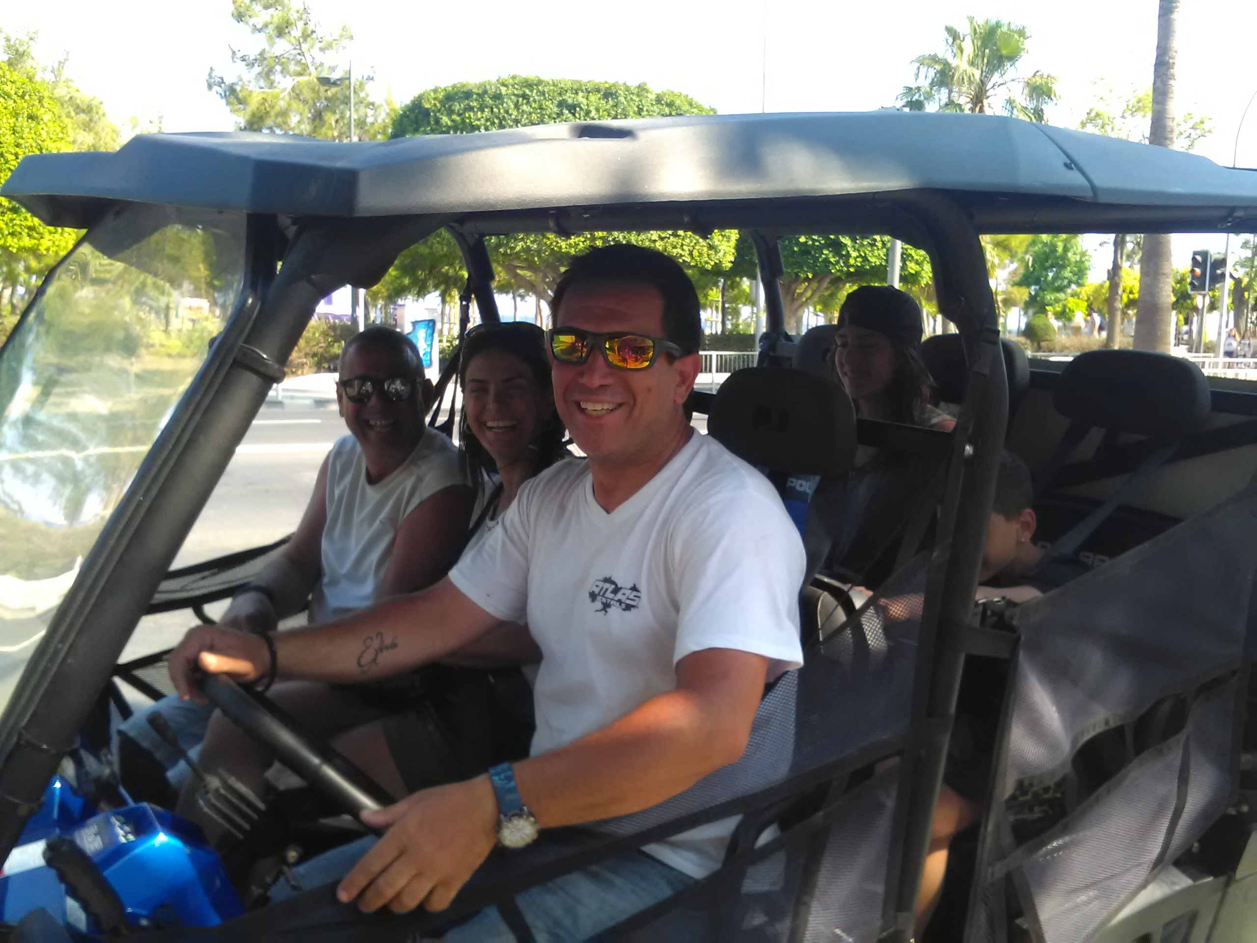 vip tours and activities with 6 seater buggies atlas rentals