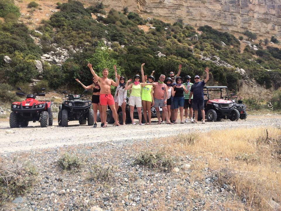 mountain tours with quads and buggies by atlas rentals limassol cyprus