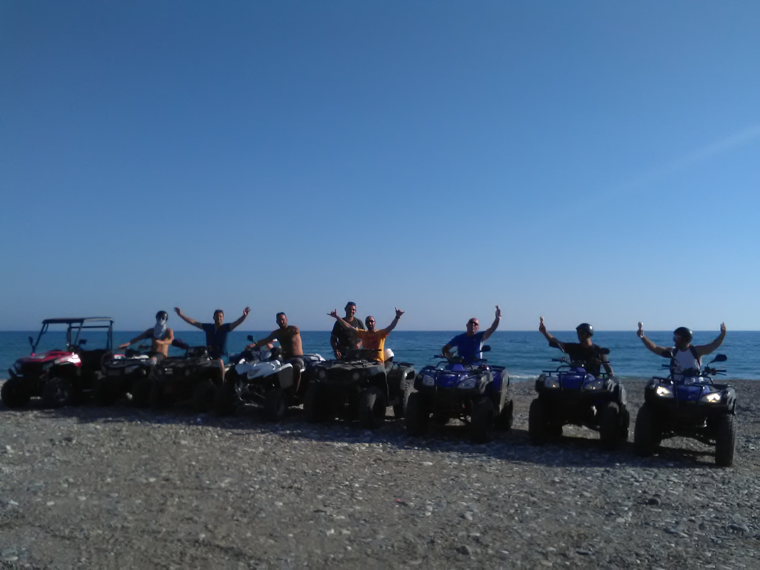 crazy israel on group safaris at kourion beach