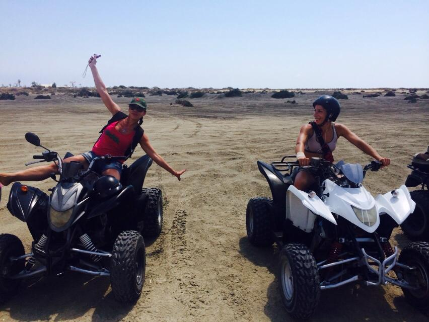 adventurous quad biking to acrotiri Atlas rentals