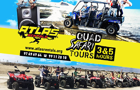 Atlas Rentals - Motorbike Quads Bike and Quad Hires