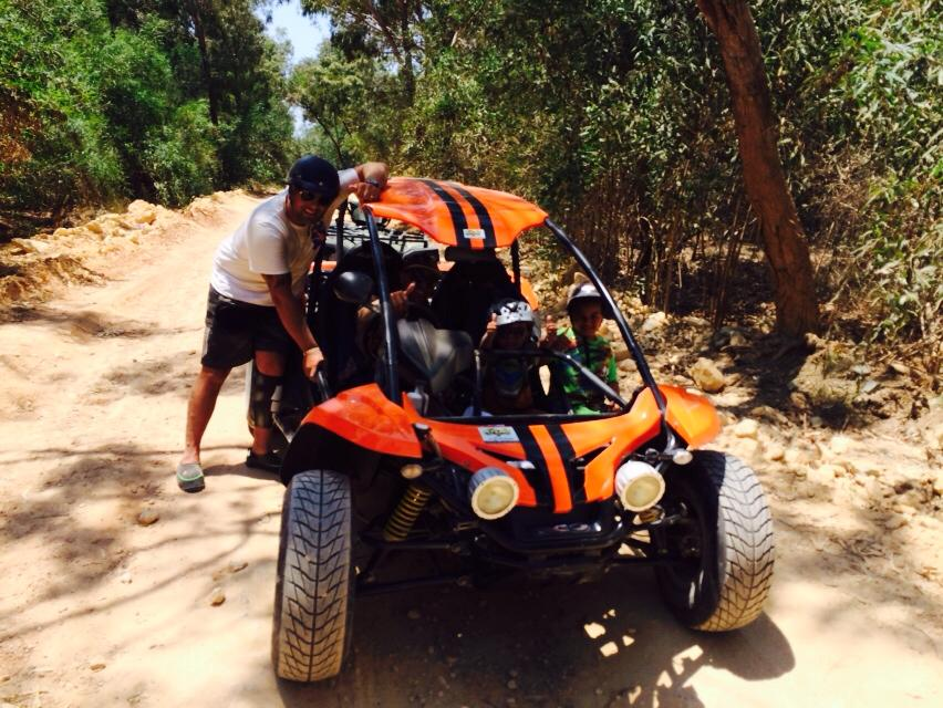 Lady's Mile Salt lake Buggy safari tour 3hrs Cyprus Atlas Rentals