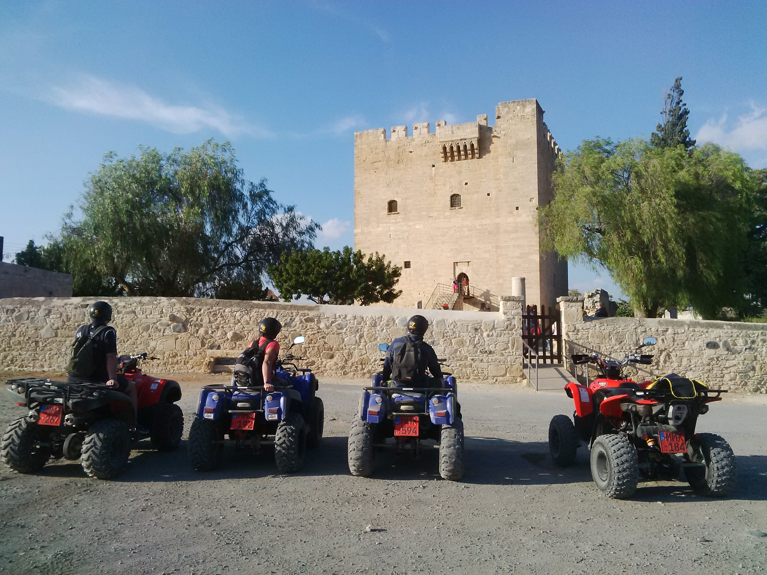 kolossi castle safaris quad atlas rentals